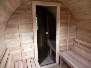 Sauna barrel 4 m thermowood