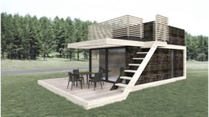 Tiny house Modul Design 25